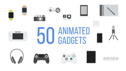 50 Animated Gadgets