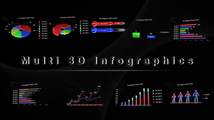Multi 3D Infographics